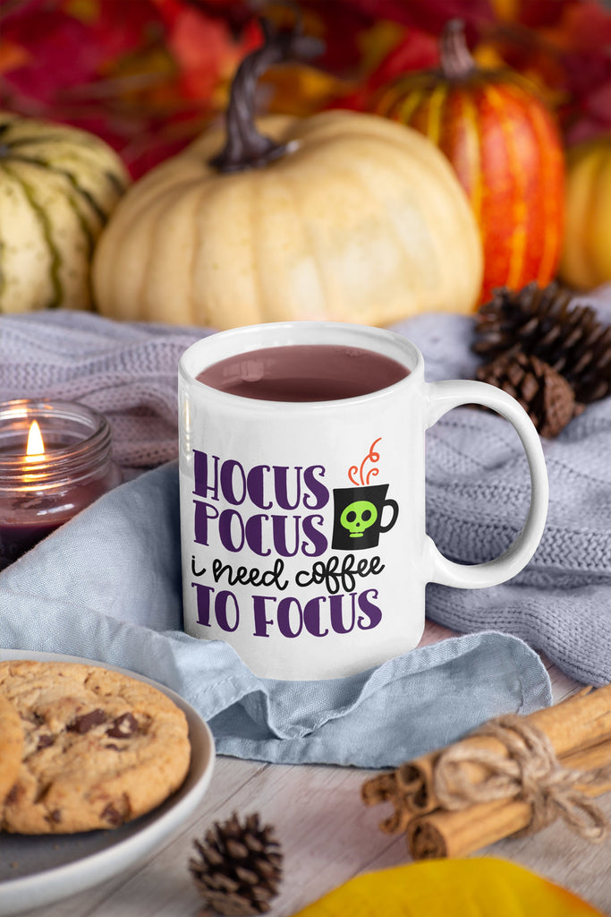 Hocus Pocus I Need Coffee to Focus - Coffee Mug