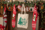 Deck the Halls Y'All - Southern Christmas Tote Bag