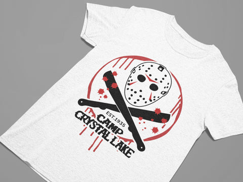 Camp Crystal Lake - Friday the 13th - Horror Movie Women's Triblend T-shirt