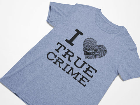 I Heart True Crime - Plus Size Women's Triblend Tshirt