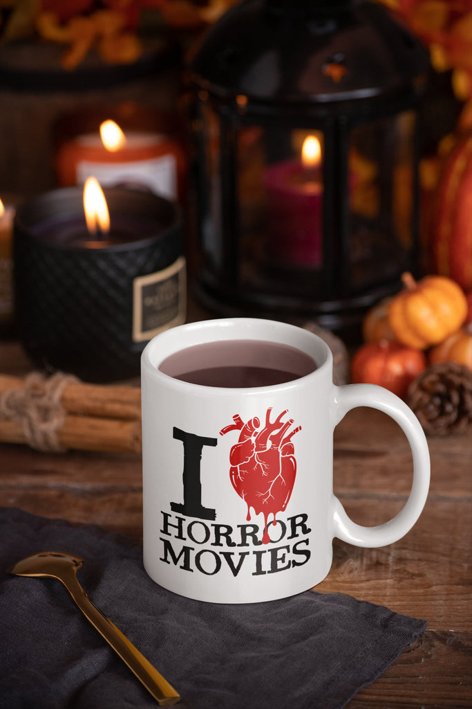 I Heart Horror Movies - Horror Movie Mug