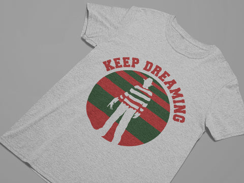 Keep Dreaming - Nightmare on Elm Street - Horror Movie Women's Triblend T-shirt