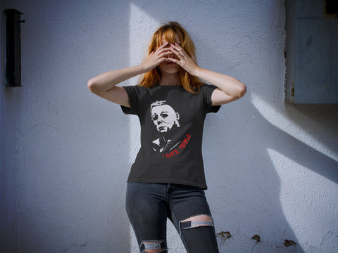 I Hate People - Michael Myers - Horror Movie Women's Triblend T-shirt