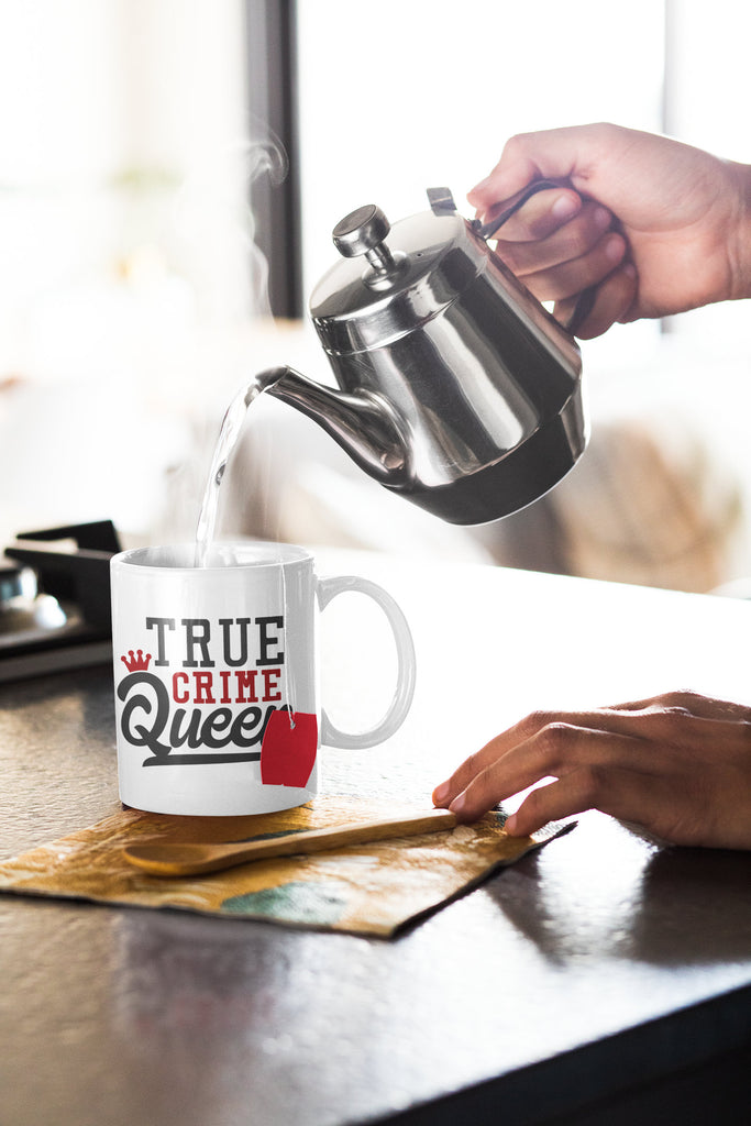 True Crime Queen - True Crime Coffee Mug