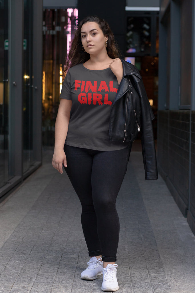 Final Girl - Plus Size Women's Triblend Tshirt
