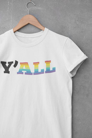 Y'All Means All - LGBTQ+ Pride - Men's Triblend Tshirt