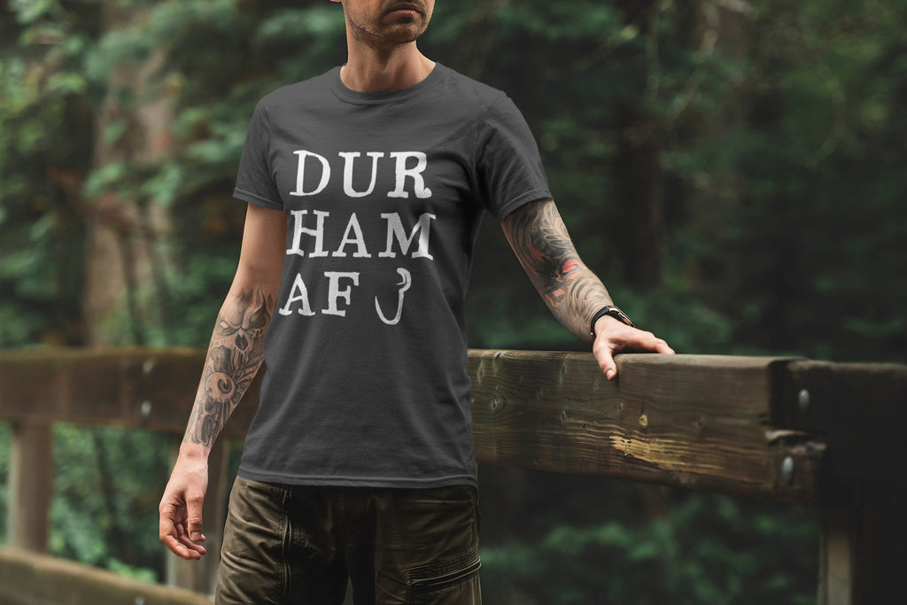 Durham AF - Durham, North Carolina - Men's Triblend Tshirt