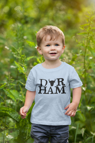 Durham, North Carolina Tshirt - Youth/Toddler Unisex Triblend Tshirt