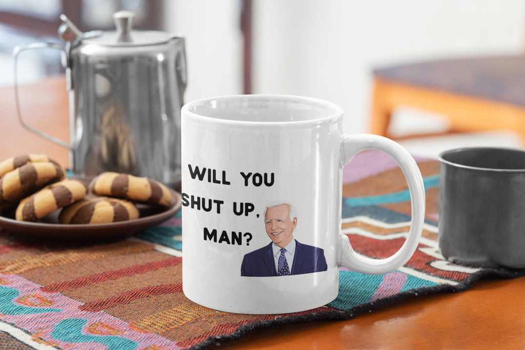 Will You Shut Up Man? - Presidential Debate 2020 - True Crime Coffee Mug