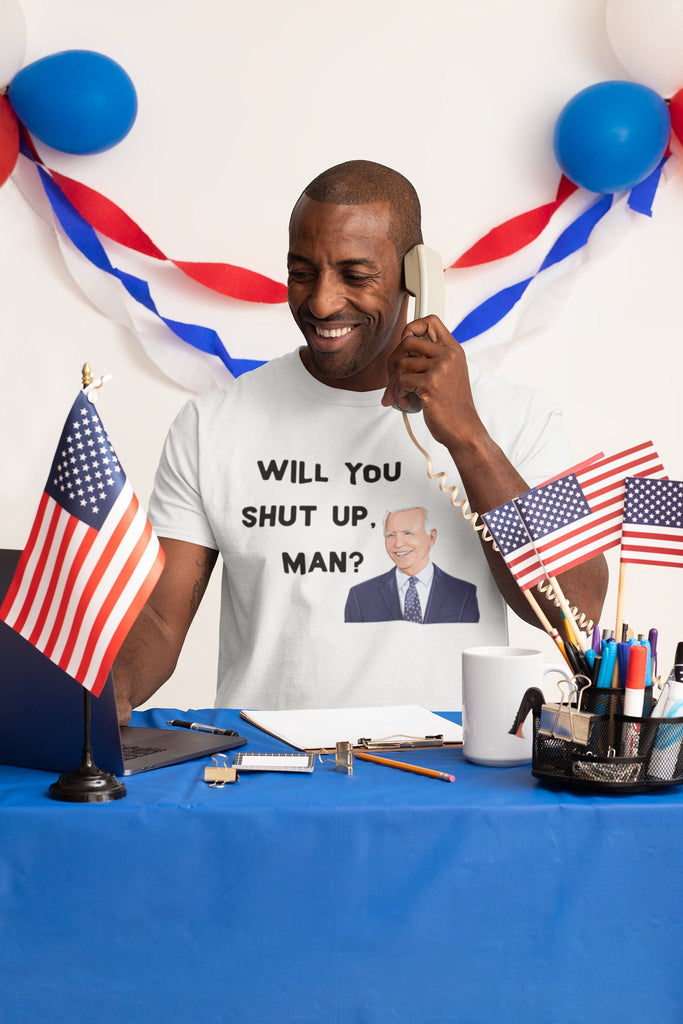 Will You Shut Up Man? - Presidentail Debate 2020 - Men's Triblend Tshirt