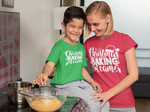 Christmas Baking Crew - Custom Matching Shirts