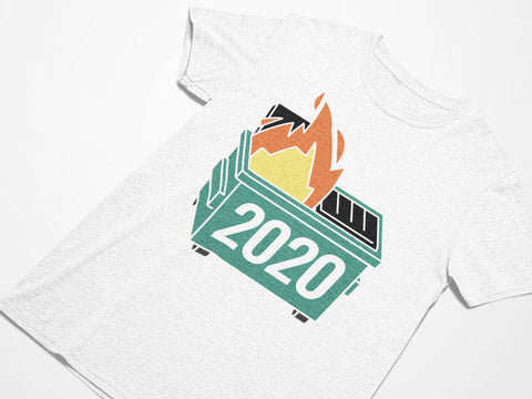2020 Dumpster Fire Tee - Women's Triblend T-shirt