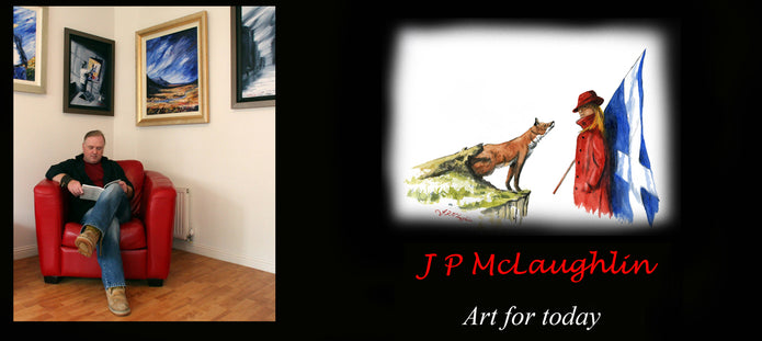 J P Mclaughlin Art