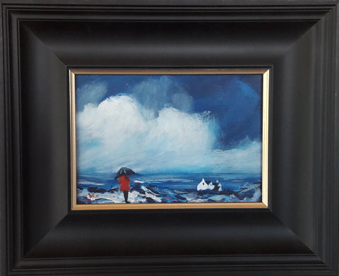 Original painting Scottish Blue J P McLaughlin