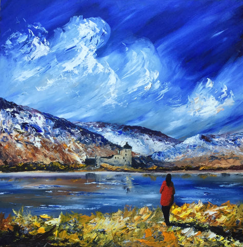 Scottish summer, J P McLaughlin artist