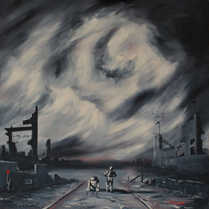 Dismal and the Empire original by J P McLaughlin Art