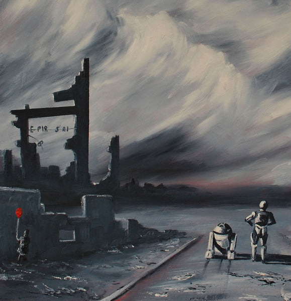 Print of Dismal and the Empire by J P McLaughlin Art