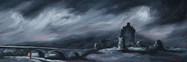 Eilean Donan Red Coat Art Prints