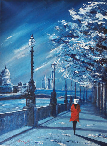 Limited Edition. London Blue.  J P McLaughlin