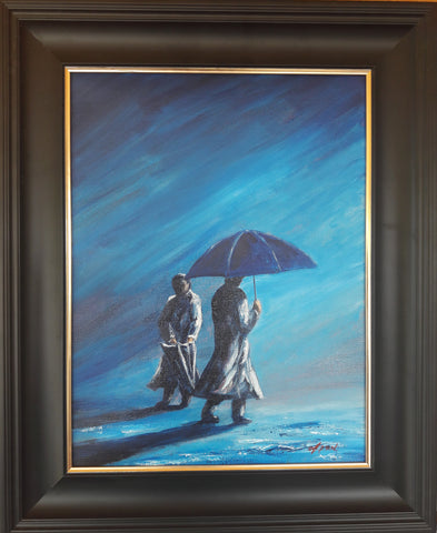 "Original art ""Rain Again"" j p McLaughlin"