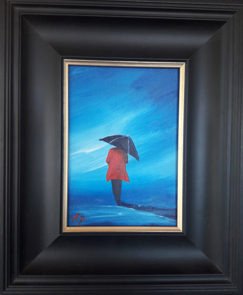 Red Coat original art