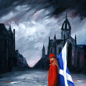 St Giles Red Coat J P McLaughlin Art