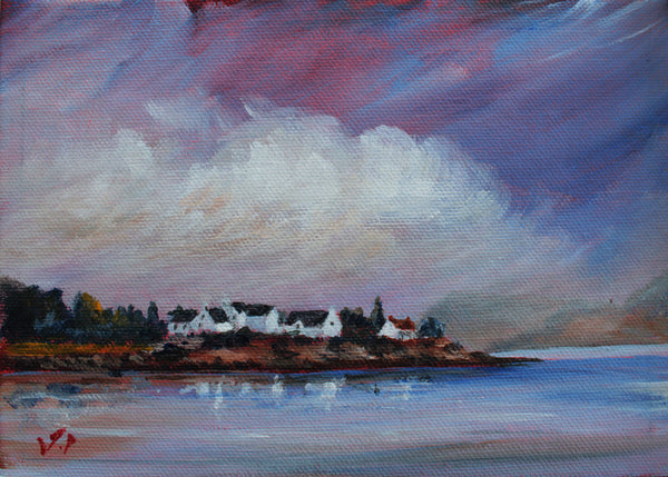 Summer in Plockton by J P McLaughlin