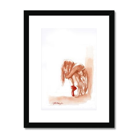 The Ballerina Framed & Mounted Print
