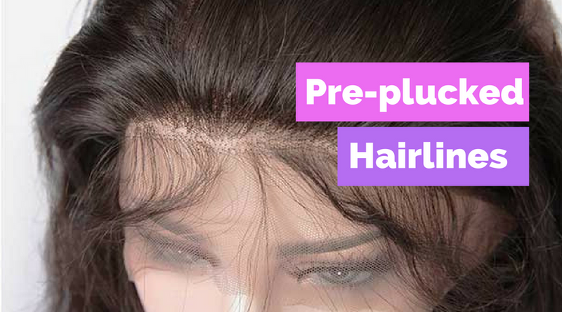 Pre-Plucked Lace Wigs