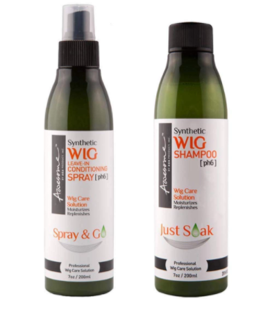 Synthetic Wig Shampoo and Conditioner by Awesome