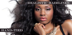 hand tied lace wigs