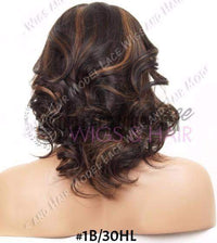 Full Lace Wig (Chantal) Item#: 1002-Model Lace Wigs and Hair