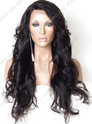 Off Black Lace Front Wig | Model Lace Wigs and Hair