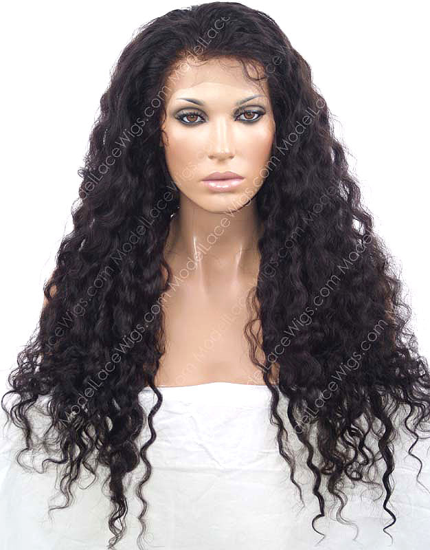 Wavy Lace Wig | Model Lace Wigs and Hair