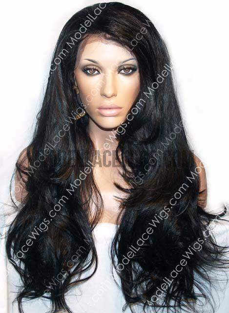 Full Lace Wig (Diamond) Item#: 189-Model Lace Wigs and Hair