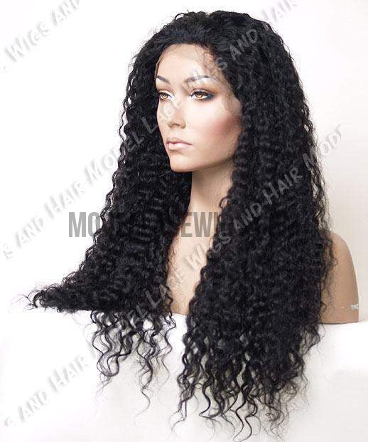 Full Lace Wig (Chloe) Item#: 885-Model Lace Wigs and Hair