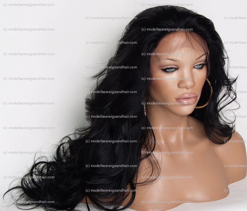 Indian Remy Full Lace Wig | Model Lace Wigs and Hair