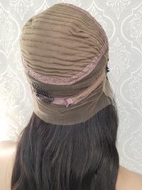 back of 360 lace front wig cap