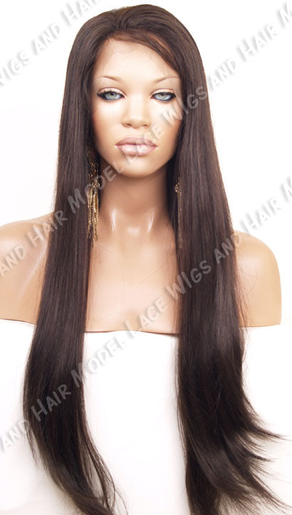 "24"" Glueless Full Lace Wig Unprocessed 