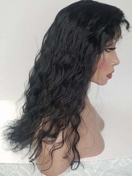IN-STOCK Lace Front and Nape Wig (Chaya) Silk Base Top Item#: FN567 | Ships Within 24 Hours