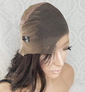 front of 360 lace front wig cap