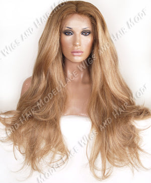 Long Blonde Full Lace Wig