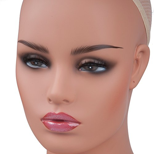 Mannequin Head Bust for Wig Display Making Styling