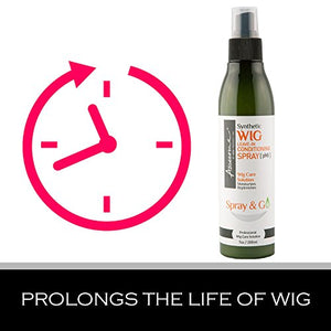 Synthetic Wig Leave-in Conditioning Spray [pH6] Spray & Go 7 Fl Oz