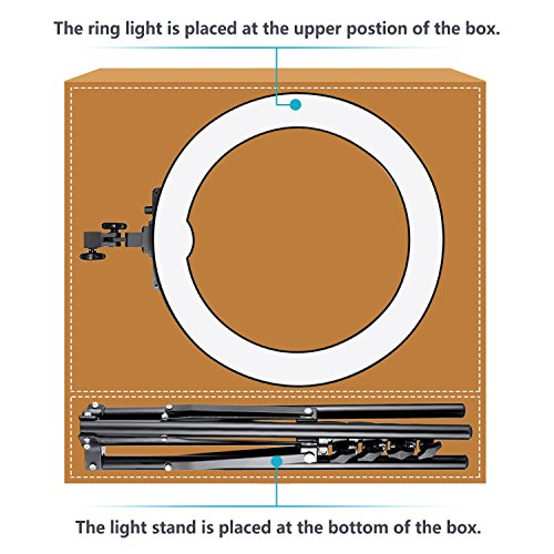 Photo Video Lighting Kit: 18 inches/48 centimeters