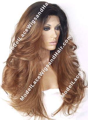Custom Full Lace Wig (Earlene) Item#: 5422 HDLW