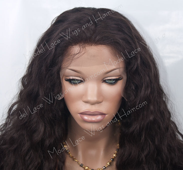 Custom Full Lace Wig (Lady) Item#: 566 HDLW
