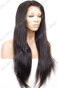Glueless Lace Front Wig (Haile) Item#4522 HDLW Medium Cap