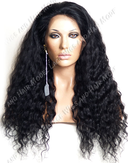Jet Black Full Lace Wig | Model Lace Wigs and Hair