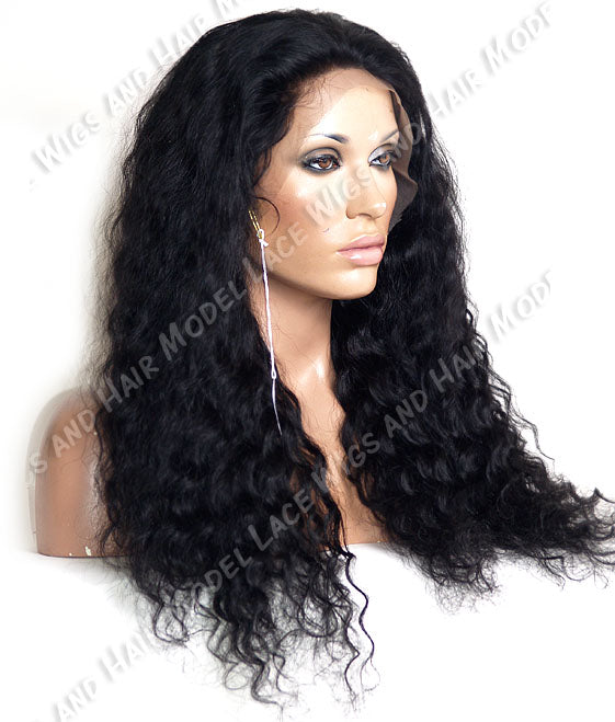 Custom Full Lace Wig (Anne) Item#: 5689 HDLW